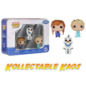 Frozen - Else, Anna and Olaf Pocket Pop 3-Pack Tin