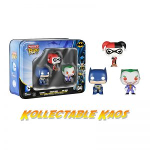 Batman - Mini Pop! Vinyl 3-Pack In Tin