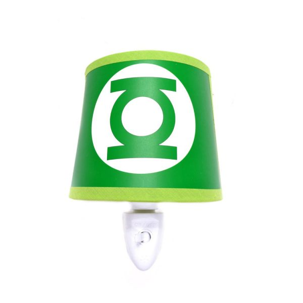Hero Lamps - Green Lantern Logo Night Light