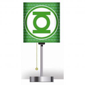 Hero Lamps - Green Lantern Logo Desk Lamp