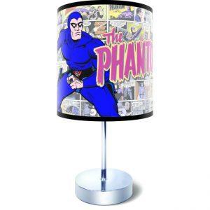 Hero Lamps - The Phantom Comic Strip Desk Lamp