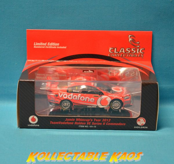 1:43 2012 TeamVodafone Holden VE Series II Comm - Whincup