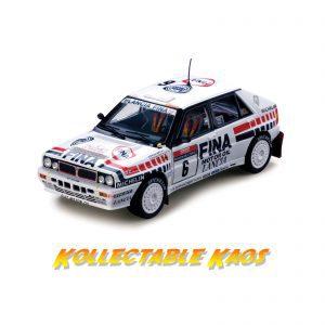 1:18 SunStar - 1990 Tour De Corse - Lancia Delta HF Integrale 16V - Salby/Grataloup