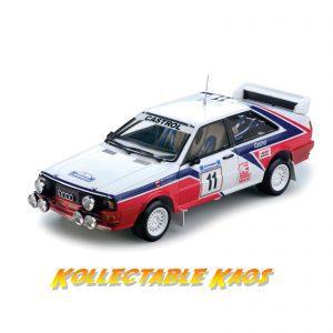 1:18 SunStar - 1982 Rally Acropolis - Audi Quattro Rally - Wittman/Diekmann