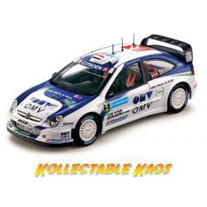 1:18 SunStar - 2007 Rally Sweden - Citroen Xsara WRC OMV Kronos Citroen - #5 M.Stohl/Minor