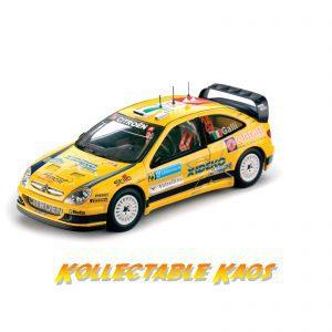 1:18 SunStar - 2007 Rally Sweden - Citroen Xsara WRC Team PH Sport - #25 G.Galli/Bernacchini