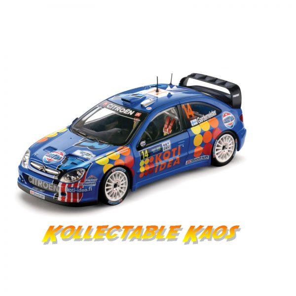1:18 SunStar - 2006 Rally Deutchland - Citroen Xsara WRC - Gardenmeister/Honkanen