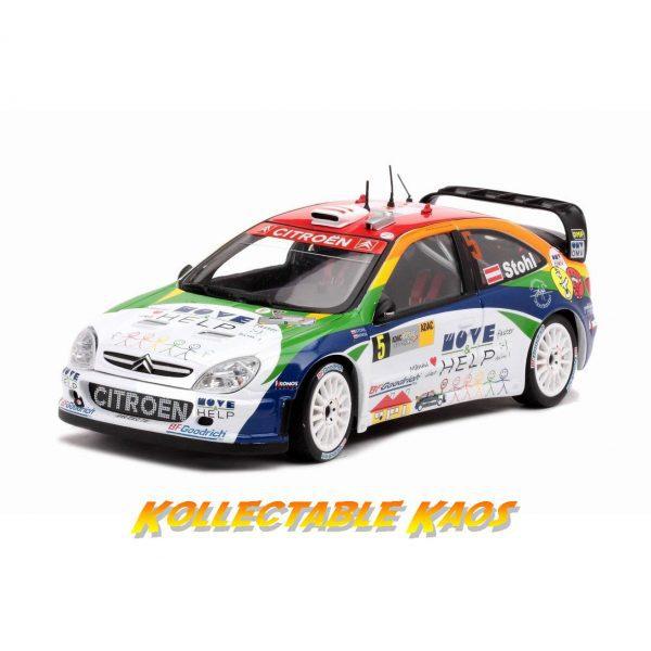1:18 SunStar - 2007 Rallye Deutschland - Citreon XSARA WRC OMV Kronos Citroen - #5 Stohl/Minor