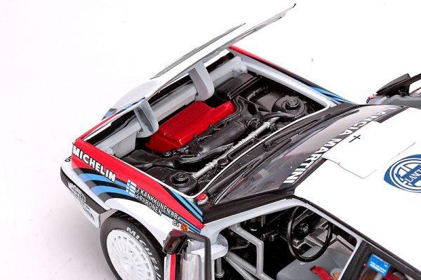 1:18 SunStar - 1991 Rallye Sanreme Winner - Lancia Delta HF Integrale 16V - Auriol/Occelli