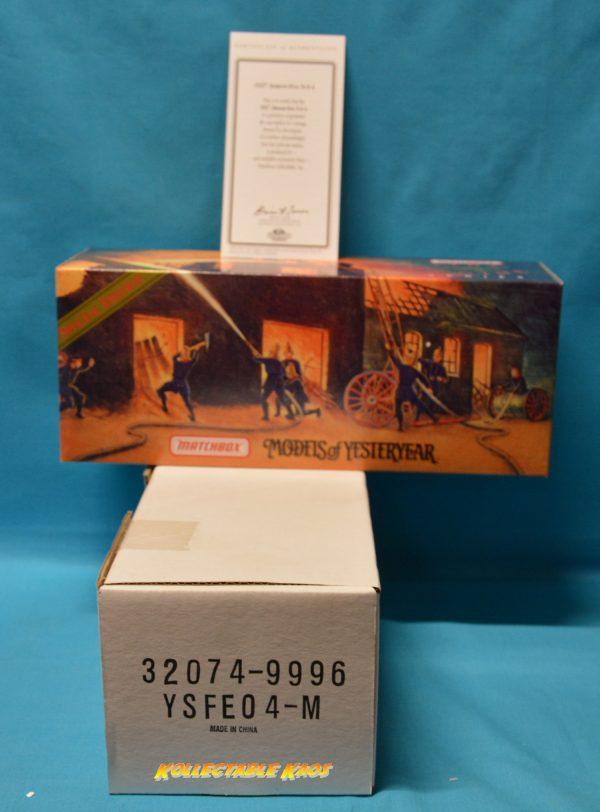 Matchbox - 1927 Ahrens Fox Fire (YSFE04)