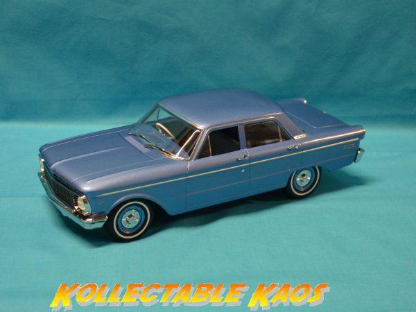 1:18 DDA - 1965 4-Door XP Ford Falcon Sedan in Blue
