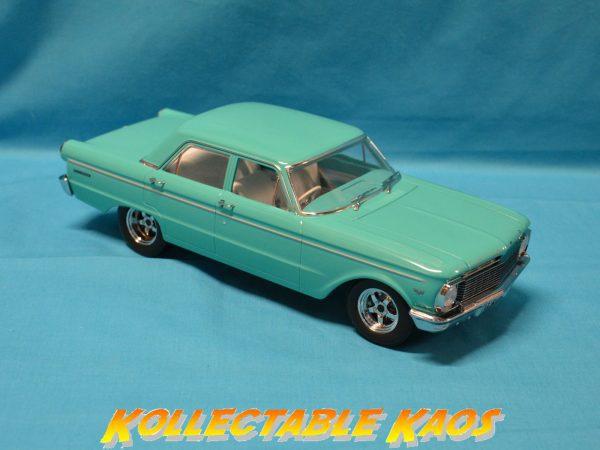 1:18 DDA - 1965 4-Door XP Ford Falcon Sedan in Turquoise