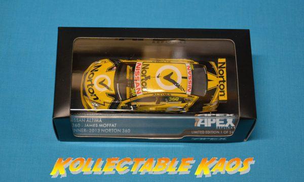 1:43 Apex - 2013 Winton 360 - Norton Racing #360 - James Moffat