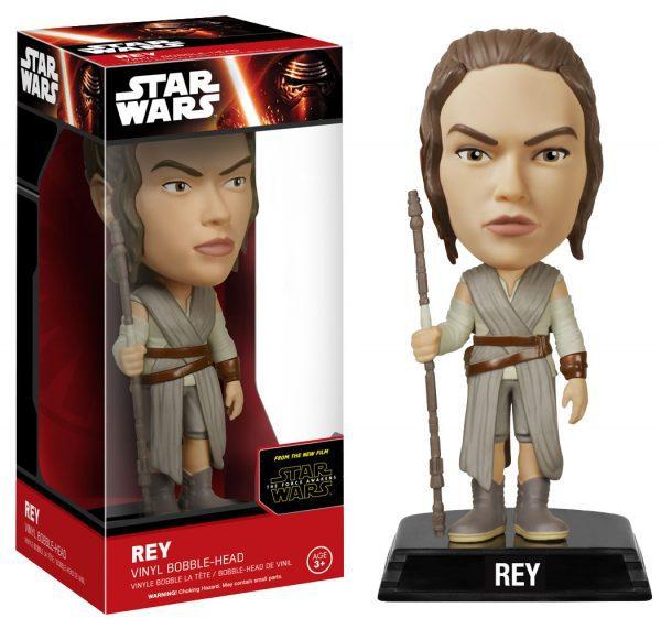 Star Wars Episode VII: The Force Awakens - Rey Wacky Wobbler Bobble Head