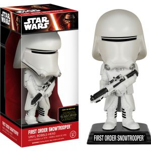 Star Wars Episode VII: The Force Awakens - First Order Snowtrooper Wacky Wobbler Bobble Head
