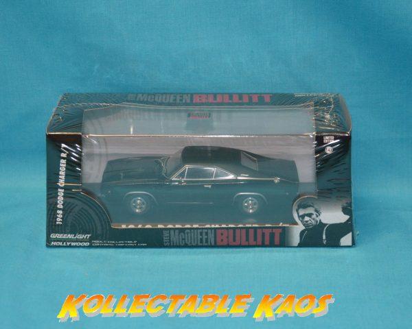 1:43 Greenlight - 1968 Dodge Charger R/T - Steve McQueen Bullitt