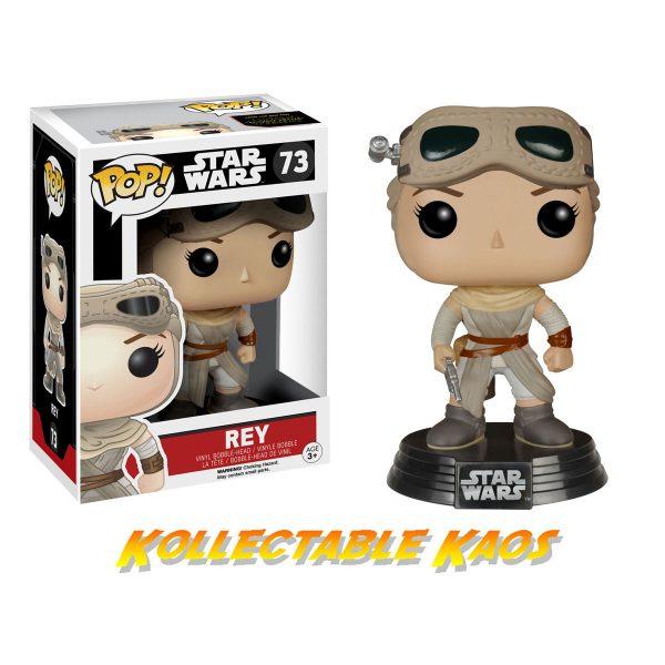 Star Wars - Rey Ep 7 Pop! Vinyl Figure Exclusive