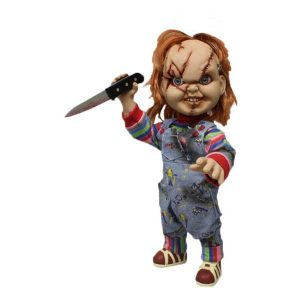 "Child's Play - Chucky 15"" Talking Doll scarred"