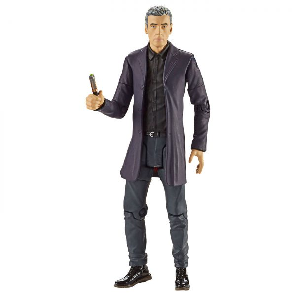 """Doctor Who - 12th Doctor in Black Shirt 5.5"""" Action Figure"""
