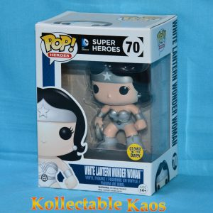 Green Lantern - White Lantern Wonder Woman Glow in the Dark Pop! Vinyl