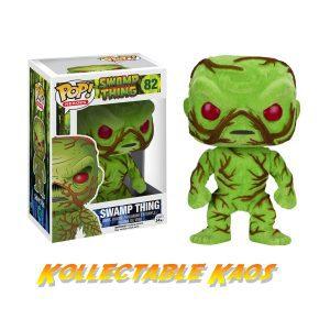 Swamp Thing - Swamp Thing Flocked Pop! Vinyl Figure