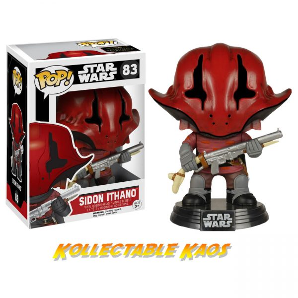 Star Wars Episode VII: The Force Awakens - Sidon Ithano Pop! Vinyl Figure