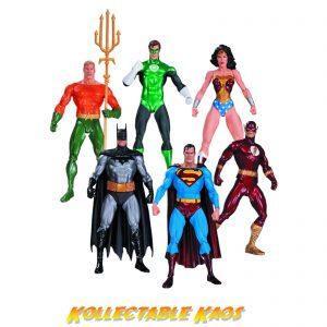 """Justice League - 7"""" Action Figure 6-Pack"""