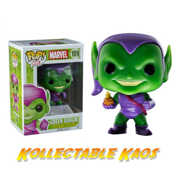 Spiderman - Green Goblin Pop! Vinyl Figure