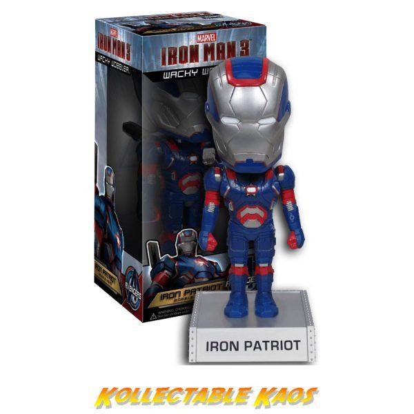Iron Man 3 - Iron Patriot Wacky Wobbler