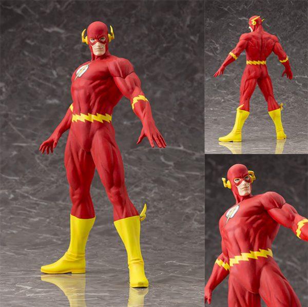 DC COMICS - The Flash ArtFX Statue