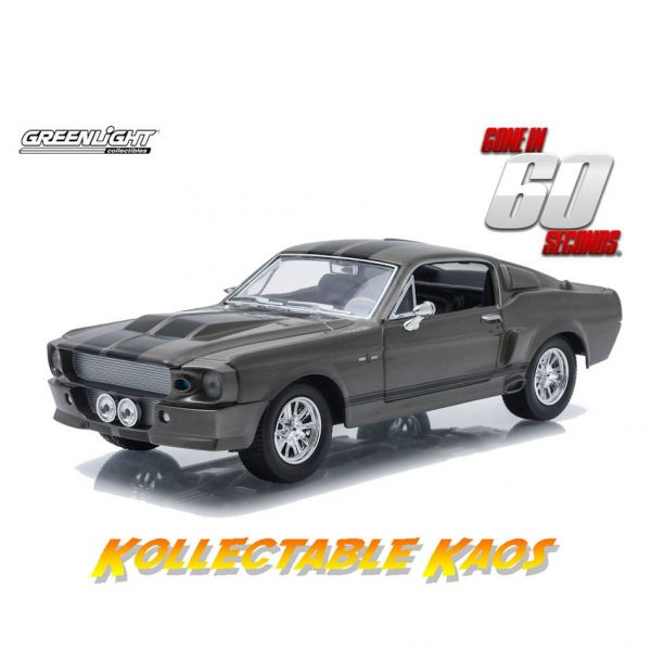 GL18220 600x600 - 1:24 Greenlight - Eleanor 1967 Ford Mustang Gone in Sixty Seconds