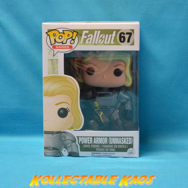 Fallout - Female Power Armor Unmasked US Exclusive Pop! Vinyl Figure