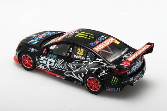 1:43 2015 HRT Supertest Livery - Holden VF Commodore - #22 James Courtney