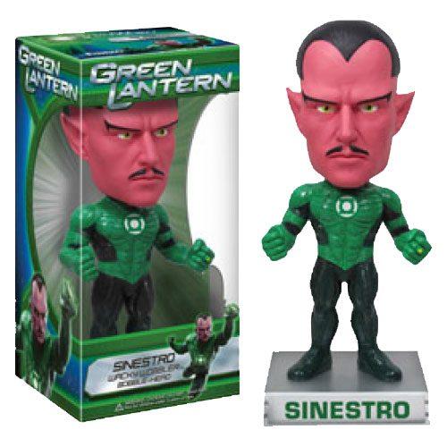 Green Lantern - Sinestro Wacky Wobbler