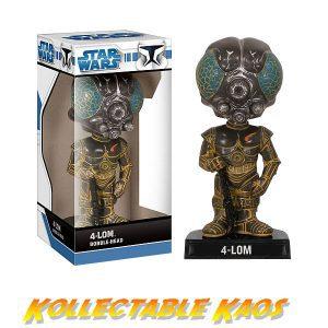 Star Wars - 4-LOM Wacky Wobbler Bobble Head
