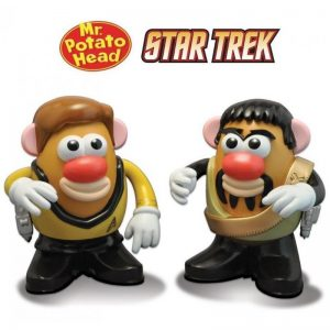 Mr Potato Head - Star Trek - Captain Kirk & Klingon Kor