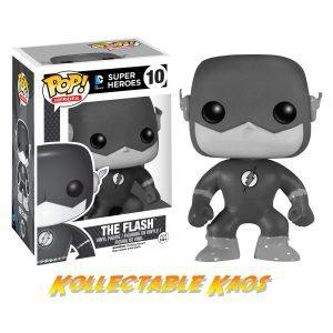 The Flash - Black & White Flash Pop! Vinyl Figure