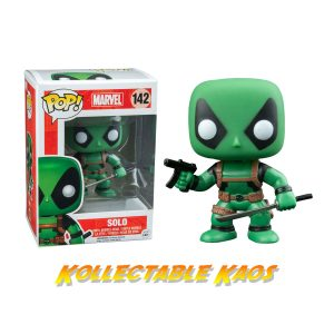 Deadpool - Solo (Green) Deadpool Pop! Vinyl Figure