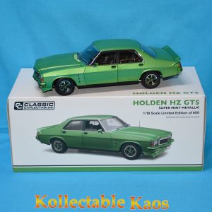 CC18543 Holden HZ Mint Green 1 300x300 - 1:18 Holden HZ GTS Super Mint Metallic Green