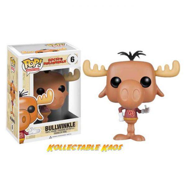 Rocky & Bullwinkle - Bullwinkle Pop! Vinyl Figure