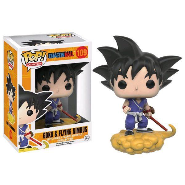 Dragon Ball Z - Goku and Flying Nimbus Pop! Vinyl Figure