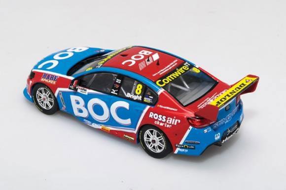1:43 2016 Virgin Australia Supercars Championship - Holden VF Commodore Team BOC - Jason Bright