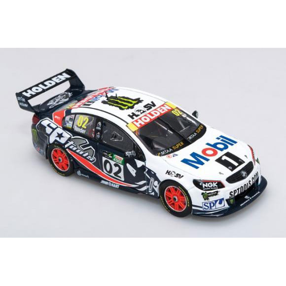 B43H15X 01 - 1:43 2015 Townsville 400 - Holden VF Commodore - #2 Tander - Brock Tribute Livery
