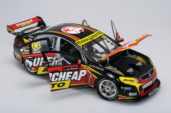 1:18 2013 VF Commodore - Supercheap Auto Racing - #66 - Ingall/Briscoe