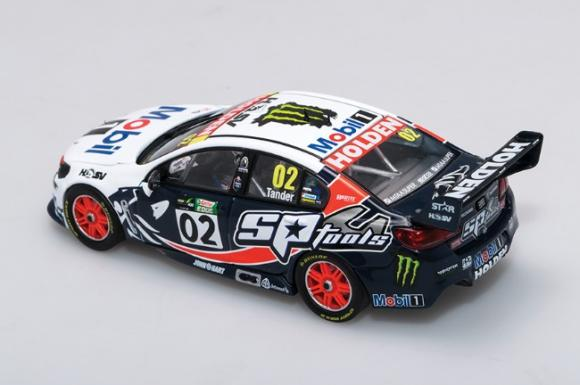 1:43 Biante - 2015 Townsville 400 - Holden VF Commodore - #2 Tander - Brock Tribute Livery