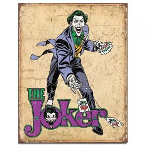 Tin Sign - DC Comics The Joker