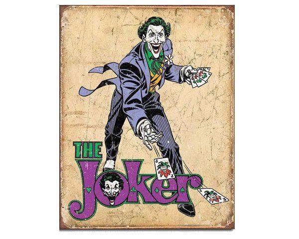 Tin Sign - DC Comics The Joker