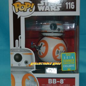 SDCC Star Wars - BB-8 Thumbs Up Episode 7 The Force Awakens SDCC 2016 Exclusive Pop! Vinyl Figur