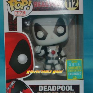 SDCC Deadpool - Thumbs Up Black & White SDCC 2016 Exclusive Pop! Vinyl Figure