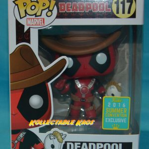 SDCC Deadpool - Cowboy Deadpool SDCC 2016 Exclusive Pop! Vinyl Figure